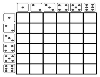 Use this dice grid template to fill in vocabulary words or phrases from your current unit of study for conversation practice!