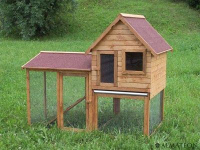 Clapier lapins en bois de qualit premium mod le for Modele de duplex