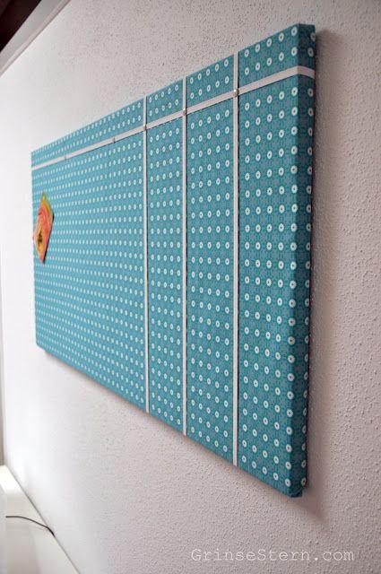 99 besten pinnwand bilder auf pinterest bastelideen rund ums haus und deko ideen. Black Bedroom Furniture Sets. Home Design Ideas
