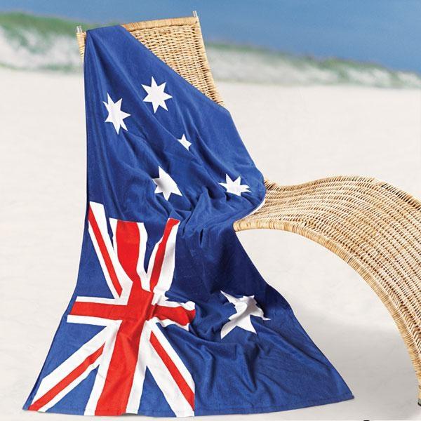 Aussie Flag #AustraliaDayOnboard