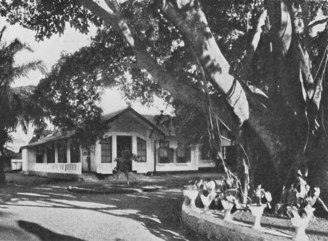 Hotel Papandajan Garoet 1920-1930.