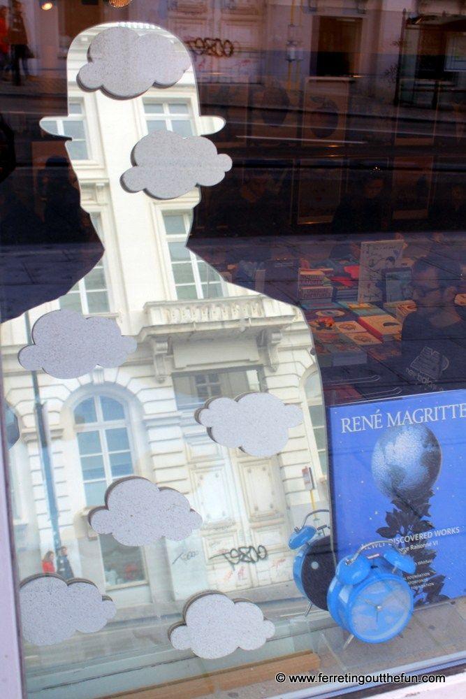 Rene Magritte Museum in Brussels, Belgium