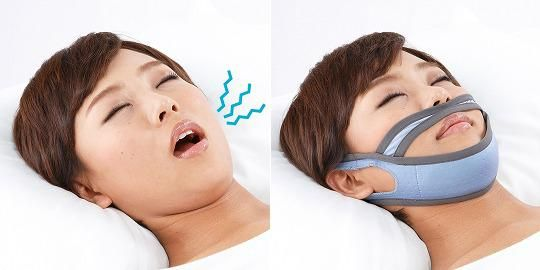 An anti #snore #mask provides night support and helps prevent snoring