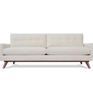 Mid century modern minimalist couch sofa. | Home: Delovely | Pinterest | Couch  sofa, Modern minimalist and Mid-century modern