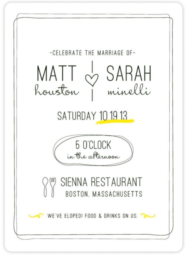Best 20+ Wedding Announcement Wording ideas on Pinterest | Wording ...
