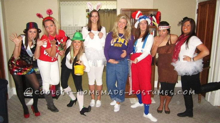 Coolest Homemade Scary Halloween Costume Ideas | Creative ... Creative Halloween Costumes For Women Groups