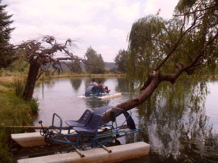 Lago en Villa Baviera