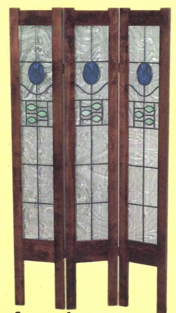 amish room divider screens screen panel stained glass
