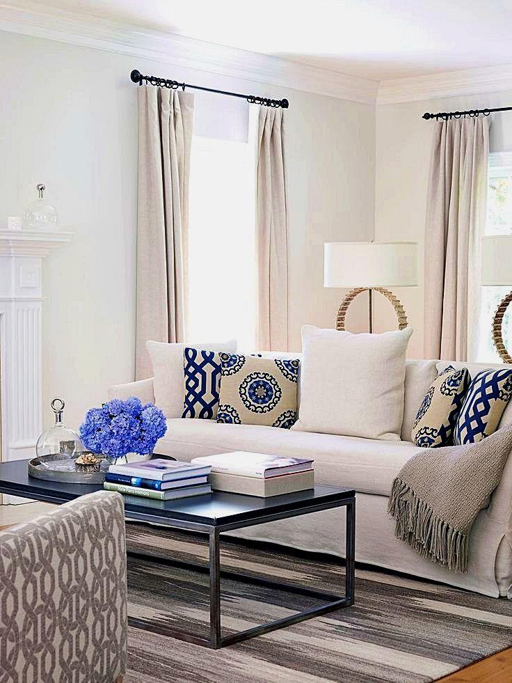 Mel S Living Room Reveal Emily Henderson Blue Living Room Decor Living Room White Blue And White Living Room
