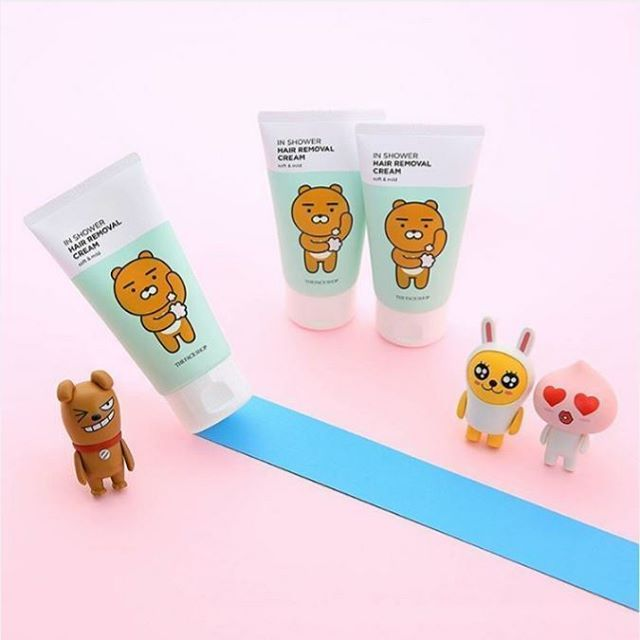 The Face Shop In Shower Hair Removal Cream  #thefaceshop #inshower #shower #hair #removalcream #removal #bbcosmetic #bbcosmetic_official
