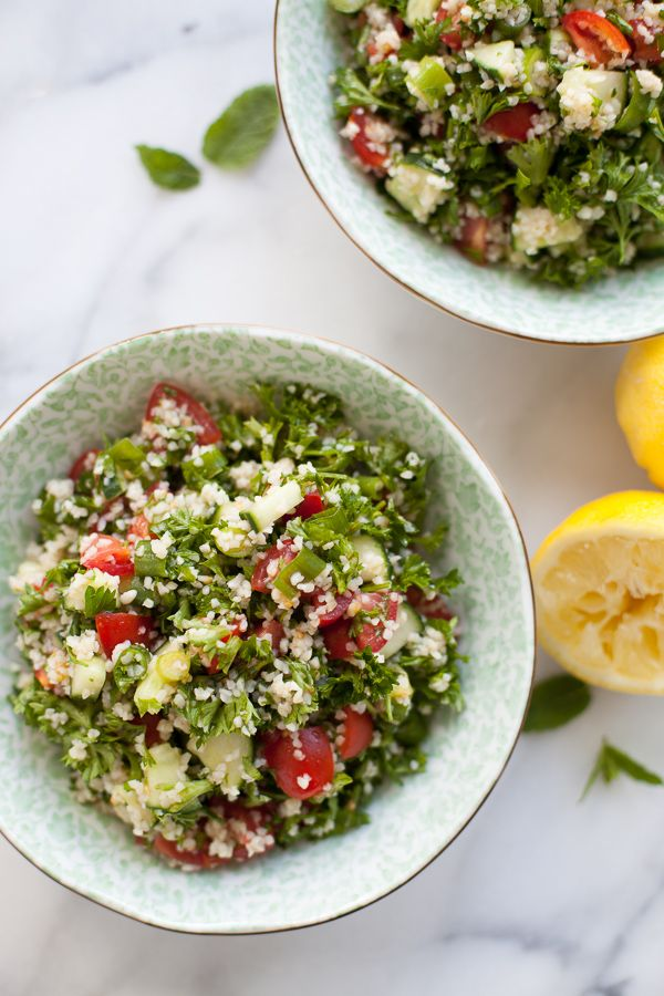 love Tabbouleh salad!! | Summer Cooking | Pinterest