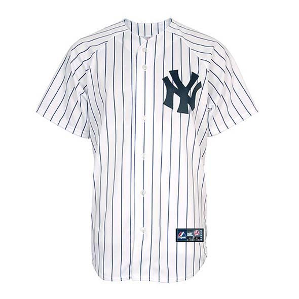 New York Yankees Shirt | Yankees White Jersey | MLB Jerseys UK | Touchdown Sports | Touchdown Sports