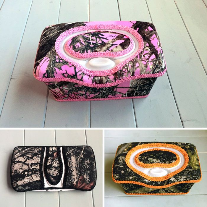 Camo Baby Wipe Case Covers