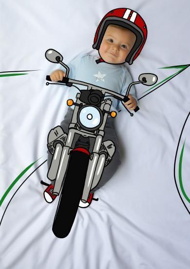 Ponchito, bike, moto, motorista, de mayor quiero ser, fotografía, infantil, bebé, creativa, ilustración, baby, photography, kid, illustration, photography, creative, dibujo