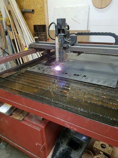 CNC plasmasnijden fablab 013