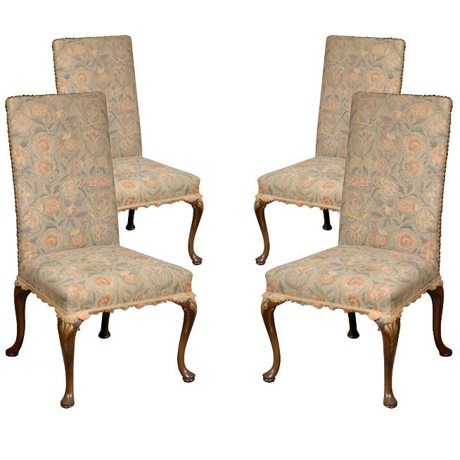 Nice Late 19th To Early 20th Century Georgian Style Side Chairs