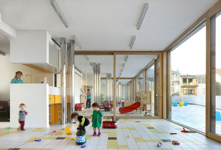 Child Day Care Centre / Burobill + ZAmpone architectuur