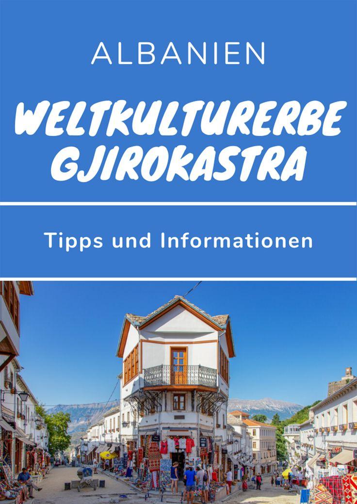 UNESCO Weltkulturerbe Gjirokastra Albanien Albanien