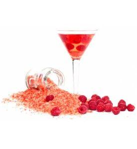 Raspberry badesalt