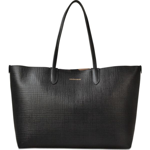 Alexander McQueen Medium Shopper (360 KWD) ❤ liked on Polyvore featuring bags, handbags, tote bags, black, alexander mcqueen, shopper handbag, shopping tote bags, alexander mcqueen handbags and shopper purse