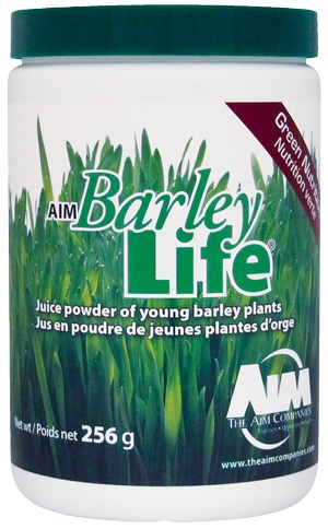 Barley Grass Powder- I also throw in a couple tablespoons of this stuff in my almond milk.
