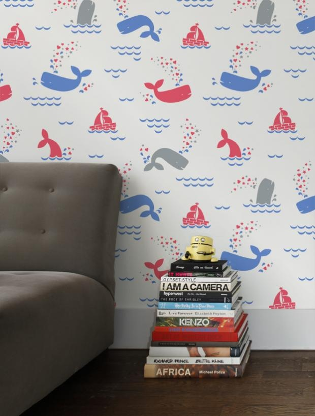 Google Image Result for http://www.icff.com/sites/default/files/imagecache/lg-half-slide/exhibitor-images/aimeewilderdesign/whalentine-brittany.jpg: Whalentine Wallpaper, Wallpapers, Nursery, Baby, Kids, Products, Room