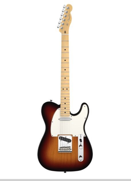 Fender Telecaster- possibly one of the most beautiful sounds, feel.. It's an extremely comfortable guitar for me.. It's homely.. Divine..