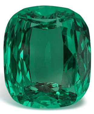 The Imperial Emerald at 206 carats is the world's most valuable emerald due to the fact that it is so clean, clear and is totally unenhanced.: The Imperial Emerald at 206 carats is the world's most valuable emerald due to the fact that it is so clean, clear and is totally unenhanced.