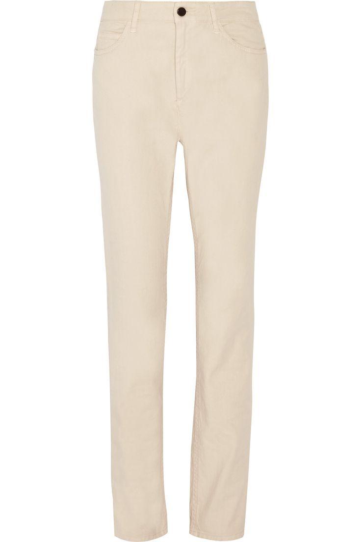 ISABEL MARANT Narcis Stretch-Cotton Skinny Pants. #isabelmarant #cloth #pants