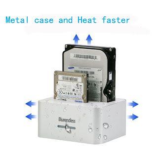 Aluminum dock station hdd usb sata case 2.5 3.5 hard disk case hd externo usb 3.0 external hard drive hard disk docking station (32720963166)  SEE MORE  #SuperDeals