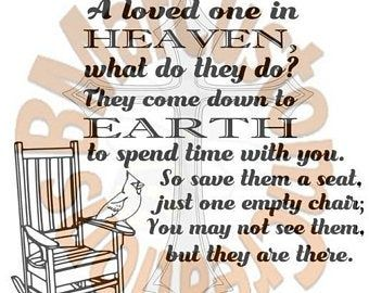 Download Loved Ones in Heaven Empty Chair Lost Love One Christian ...