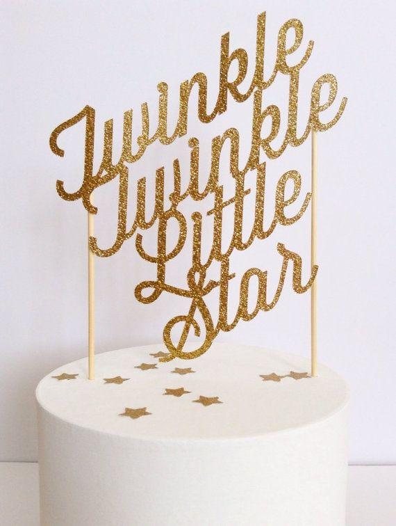 ... on Pinterest  Twinkle twinkle little star, Birthdays and Simple cakes