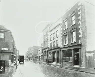 The Highway, formerly 297-291 Shadwell High Street, 1938