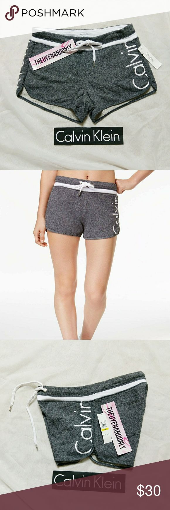 NWT Authentic CK Calvin Klein Performance Shorts NEW WITH TAGS  AUTHENTIC CK Calvin Klein Performance Shorts Dark Gray  PRICE IS FIRM   FREE SHIP is available, please contact Calvin Klein Shorts