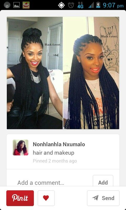 Poetic Justice Braids Super Cute For The Winter Free 2 B Natural Hairstyles Pinterest