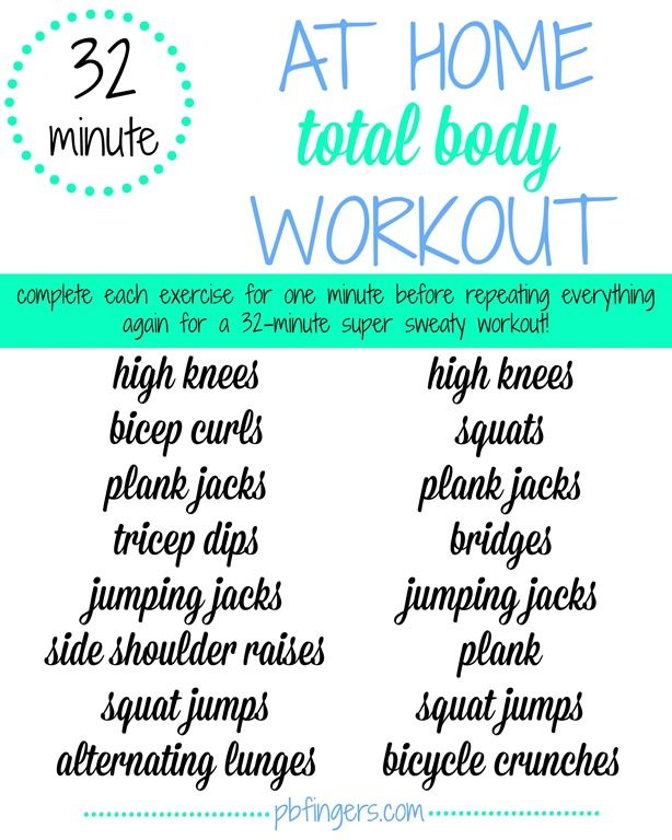 Get a Total-Body Workout in Your Living Room