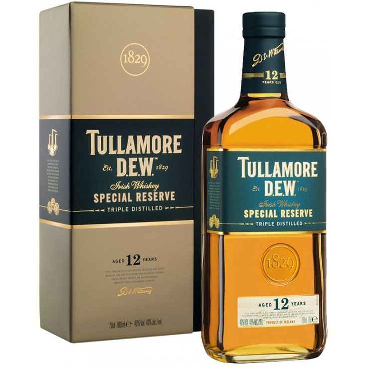 Tullamore Dew 12 Year Old Special Reserve Irish Whiskey Irish Whiskey Brands Whiskey Brands Irish Whiskey