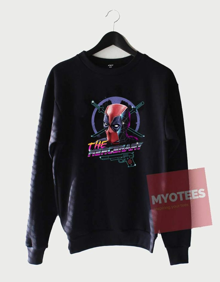 Cheap Custom The Mercenery DeadPool Sweatshirt //Price: $27.49 //     #tees