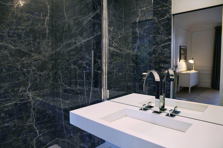 Blue marble / by capo-architectes site web: www.capo-architectes.com