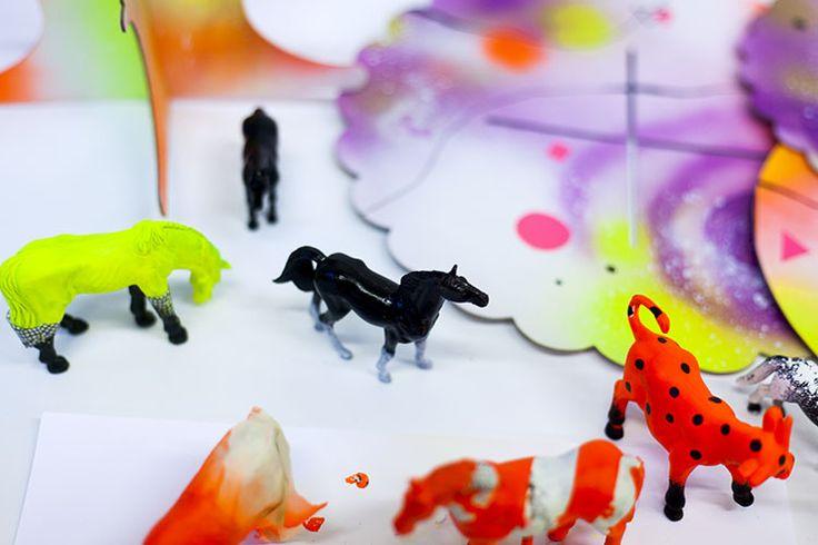 neon party // in progress // diy // visuaalisestivaativa.fi