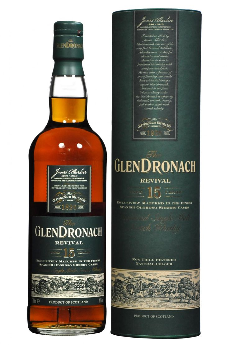 Review #106 - The GlenDronach Revival 15yr #scotch #whisky #whiskey #malt #singlemalt #Scotland #cigars