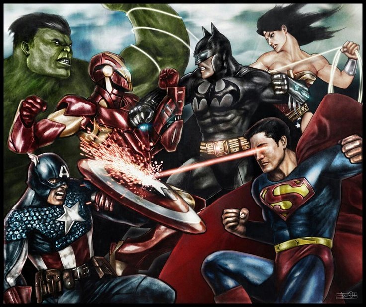 30 Best Images About Dc Vs Marvel On Pinterest
