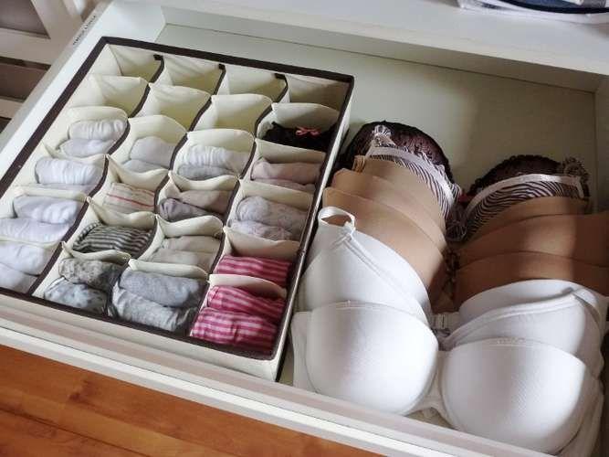 Gaveta de lingerie