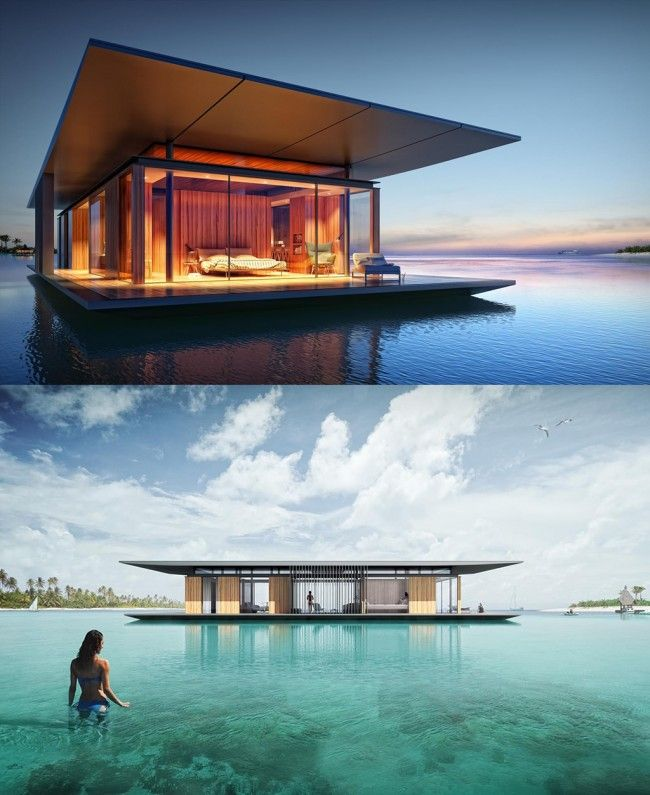 Floating House ~ By Dymitr Malcew
