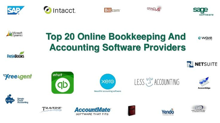 Top 20 online bookkeeping and accounting softwares by @ACECloudHosting