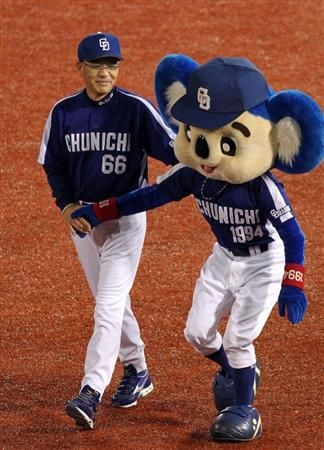 After final game with Ochiai team's manager.   I felt keenly about this scene...