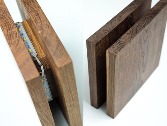 wall light wooden SC69 handmade. wooden sconce. wood lamp.