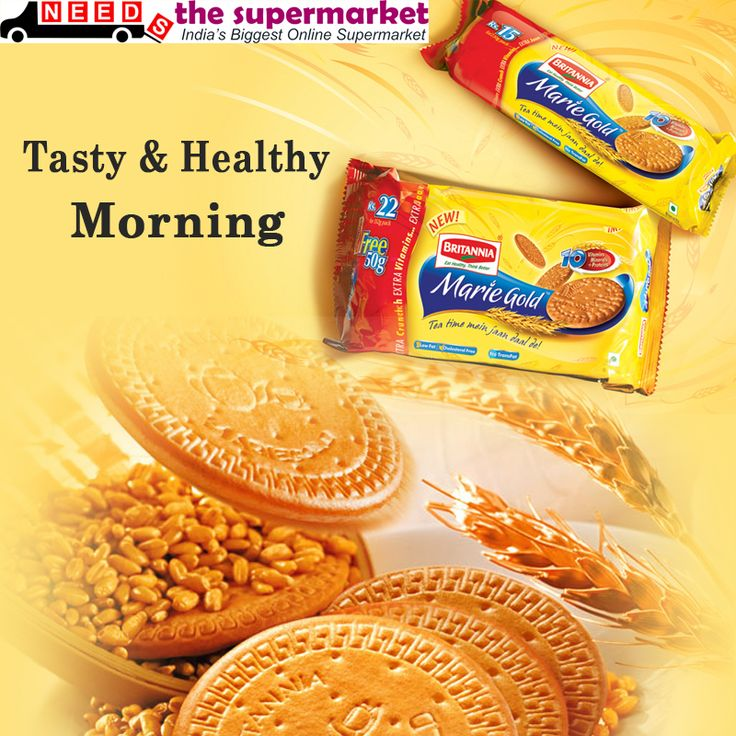 Start Your Morning Sweet & Healthy with Britannia Marie