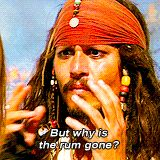 Jack Sparrow - why is the rum gone