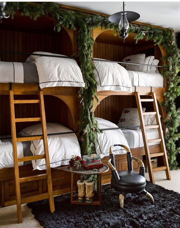 Pin by Nicole & Dianne on Living Cozy Bunk beds, Bunk